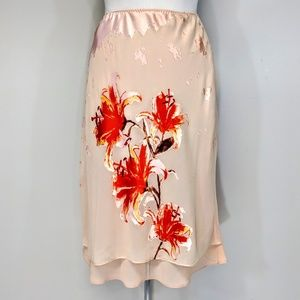 The Limited Skirts - The Limited Silk Bias Cut Skirt